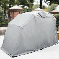Large Motorcycle Shelter Shed Cover Tent Garage Outdoor Heavy Duty Protect