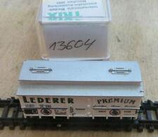 """Minitrix N 13604 - Bierwagen """"Lederer Premium"""" in EVP"""