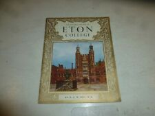 ELTON COLLEGE - The Pictorial History - By B J W Hill