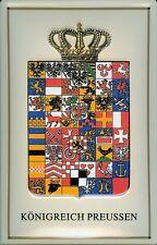 Blechschild Nostalgieschild Königreich Preussen Wappen Preußen 20x30 cm