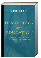 Democracy and Education by John Dewey (1997, Paperback)