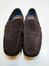 Ted Baker Men's Brown Suede Leather Loafers Size 12m