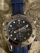 Men's Omega Seamaster 2598.80 Chronograph 300M Chronometer Automatic 42MM Watch