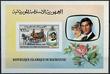 Mauritania 1982 Royal Baby Birth MNH Imperf M/S #A90495