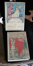 2 Vandercook Books Girl Scouts of Round Table & Ranch Girls at Rainbow Lodge