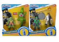 Imaginext DC Super Friends Figures Riddler & Two-Face / K. Croc & Crocodile NEW