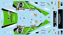 DECALS 1/43 SUBARU IMPREZA WRC - #19 - JULLIEN - RALLYE DU CONDROZ 2015 - D43386