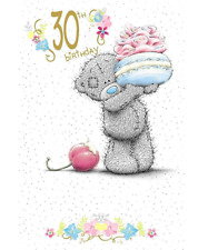 ME TO YOU 30TH BIRTHDAY CARD TATTY TEDDY BEAR NEW GIFT