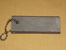 "VINTAGE COGHLAN'S MADE USA 3"" MINI FIRE STARTER STONE KEYCHAIN"