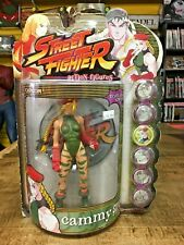Resaurus Street Fighter CAMMY PLAYER ONE action figure - SEALED - SOLD AS IS