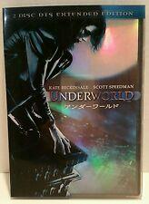 Collect DVD Underworld Movie Extend 2-Disc Comic Book Memorabilia Japanese Reg2