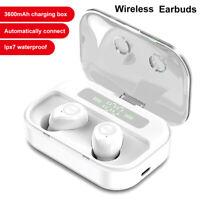 Bluetooth 5.0 Headset Wireless Headphones Earbud Earphones For iPhone Samsung LG