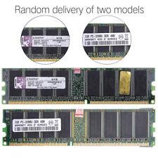For Computer PC Reliable 1GB DDR Desktop PC3200U 400 184 pin Memory Ram Stripe