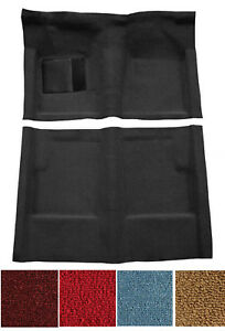 New! 1960-1965 Ford Falcon Carpet Set Molded w/ backing and Heel Pad Pick Color