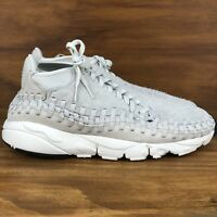 Nike Air Footscape Woven Chukka QS Light Bone White Multi Size [913929-002]