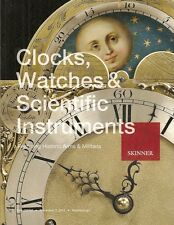 Skinner Clocks Watches & Scientific Instruments Arms Military Post Catalog 2013