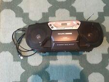 Phillips Magnavox CD, Radio,Cassette Player Recorder CD synchro recording AZ1005