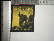 CANDLEMASS Tales Of Creation SILK SCREEN PRINTED PATCH