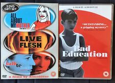 4 DVD Talk To Her Bad Education Live Flesh All About My Mother Pedro Almodovar