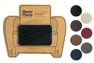MastaPlasta Self-Adhesive Leather Repair Patch FLAG 10x6cm Sofa Car Seat Bags