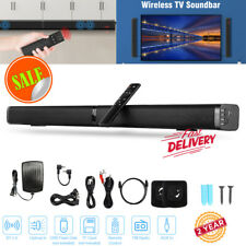 New listing 40W Wireless Sound Bar Speaker Kit Tv Home Theater Soundbar Subwoofer Detachable