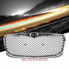 Chrome Diamond Mesh Style Front Grille For Chrysler 04-06 Sebring JR SOHC/DOHC