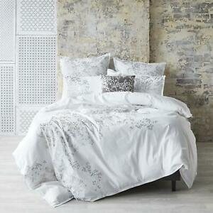 Sketch White Quilt Cover Set