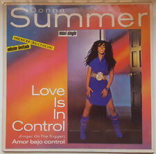 "DONNA SUMMER ""AMOR BAJO CONTROL"" SPANISH LIMITED EDITION 12"" VINYL / AS NEW"