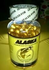 Alaska Premium Deep Sea Salmon Fish Oil with Omega-3 Softgel Bottle of 100