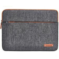 "Laptop Sleeve Carry Case 10.1""-17"" Shockproof Fashion Grey Notebook Computer Bag"