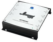Lanzar OPTIDFA6 6 Channel RCA Optically High Current Distribution Amplifier