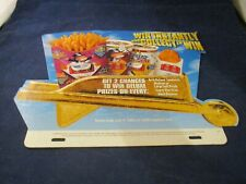 1996 Monopoly Game McDonald's Store Display Promo Sign