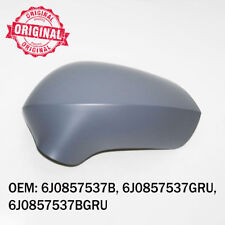 Left Side Wing Mirror Cover Cap Primed Casing For Seat Exeo Ibiza Leon 2008 On