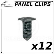 Panel Clip Trim Clips For Renault Megane 12 Pack