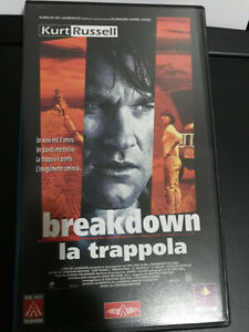 Breakdown. La trappola (1997) VHS
