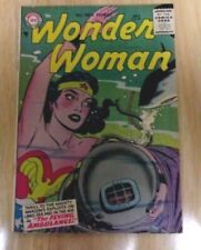 WONDER WOMAN #83 SWEET SOLID VG+ 1956 3 STORIES,GREAT SHARK COVER!