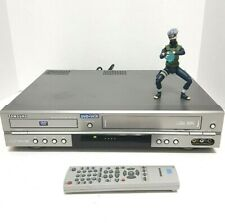 SAMSUNG DVD-V2000 DVD/VCR Combo Tested working w/ remote 00058K