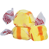 GOURMET BANANA Salt Water Taffy Candy TAFFY TOWN 1/4 LB  to 10 LB BAG-SHIPS FREE