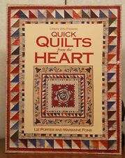 Quick Quilts from the Heart by Liz Porter & Marianne Fons