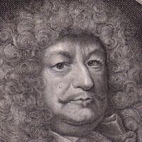 Portrait XVIIe Frédéric Guillaume De Brandebourg Hohenzollern Duc De Prusse