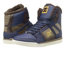 DC Women's Rebound Slim WNT Skate Shoe Size 7 Navy Blue Camel It/191