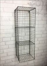Retro Vintage Industrial Style Metal Shelf Rack Storage Cabinet Cupboard Wire
