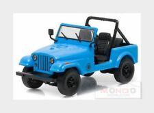 Jeep Cj7 Dharma Open 1982 Lost 2004-2010 Light Blue Greenlight 1:43 GREEN86309