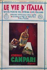 VIE ITALIA 1932 DICEMBRE 12 CAMPARI TOLLEGNO MATELDI NIZZOLI CASTEL FUMONE
