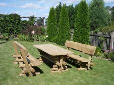 Gartenmöbel , Garnitur Barni massive Ausführung + Gartenbank + NEU