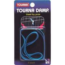 Unique Tourna Damp Tennis String Vibration Dampener-Shock Absorber-5 Pack
