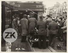 MONSIEUR RIPOIS Gérard PHILIPE LONDON Tube Queneau Camera Tournage Photo 1954