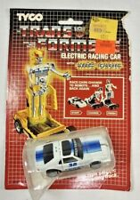 TYCO 1985 Transformers Mustang Electric Racing Mustang Car With Nite Glow Sealed
