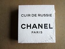 CUIR DE RUSSIE 1 SEALED PACK 50 CHANEL PERFUME BLOTTER CARDS NEW CC CARD SET