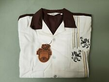 New Mens Da Vinci Embroidered Shirt.